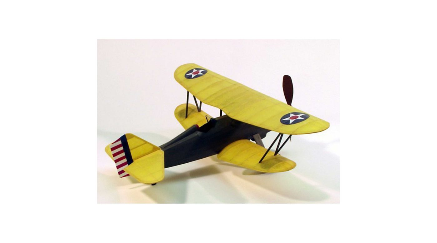 Image for Curtiss P6E Hawk Rubber Powered Kit, 17.5