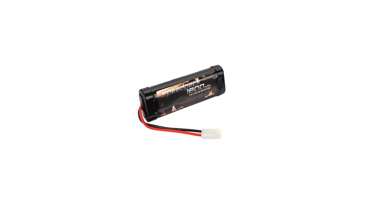 Image for Speedpack 7.2V 1800mAh NiMH 6-Cell Flat with TAM Conn from HorizonHobby