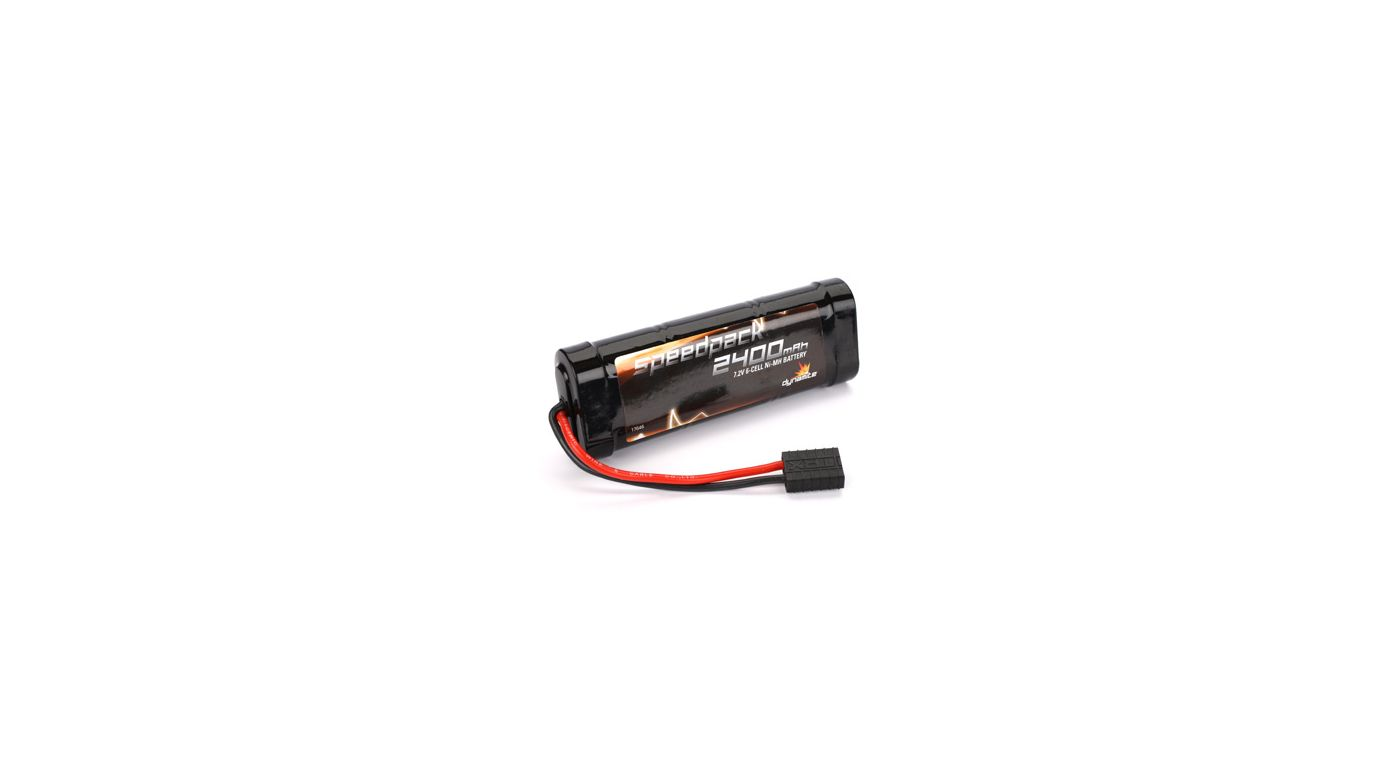 Image for Speedpack 7.2V 2400mAh NiMH 6-Cell Flat with TRA Conn from HorizonHobby