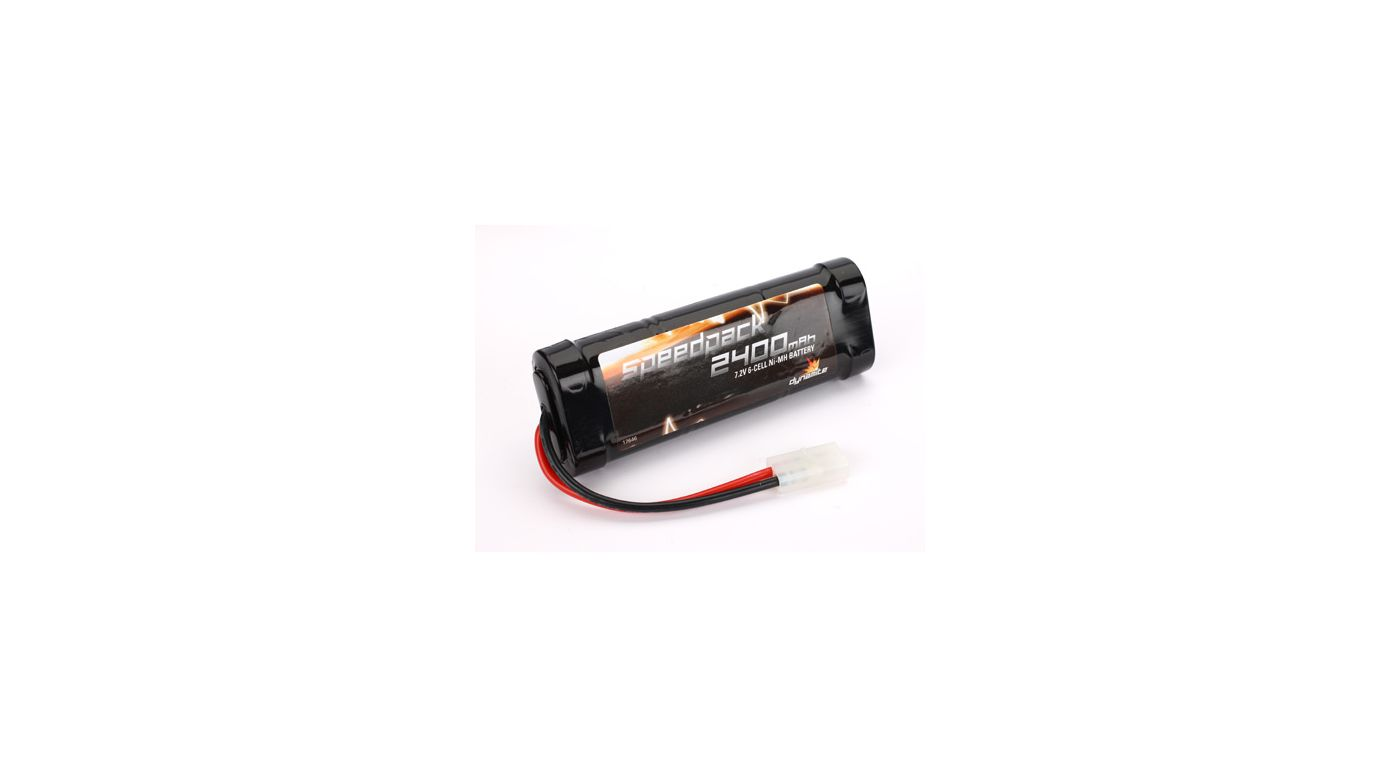 Image for Speedpack 7.2V 2400mAh NiMH 6-Cell Flat with TAM Conn from HorizonHobby