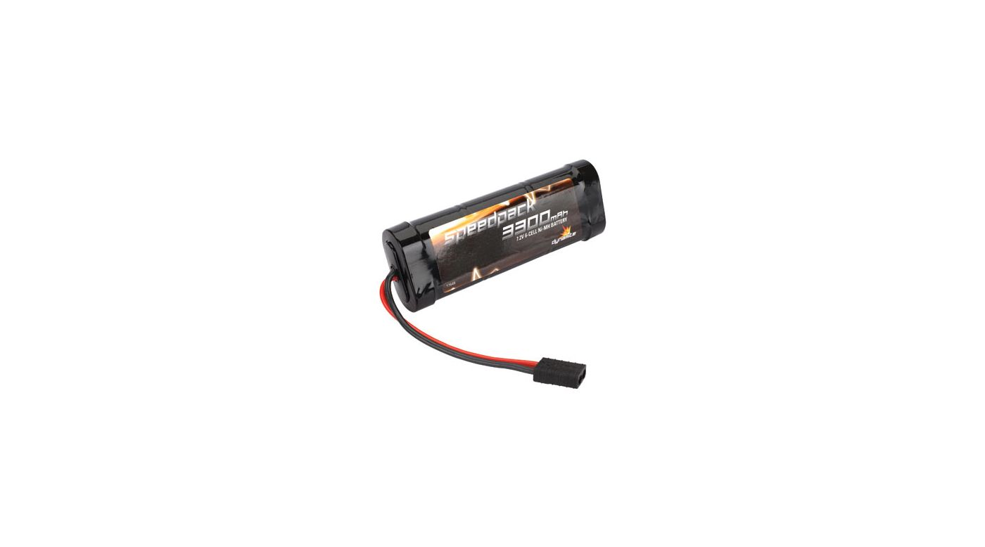 Image for Speedpack 7.2V 3300mAh NiMH 6-Cell Flat with TRA Conn from HorizonHobby