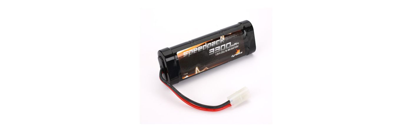 Speedpack 7.2V 3300mAh NiMH 6-Cell Flat with TAM Conn
