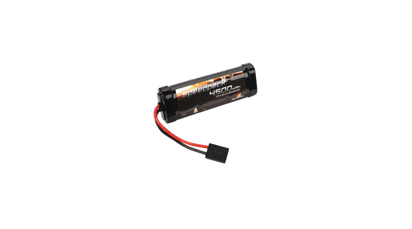 Image for Speedpack 7.2V 4500mAh NiMH 6-Cell Flat with TRA Conn from HorizonHobby