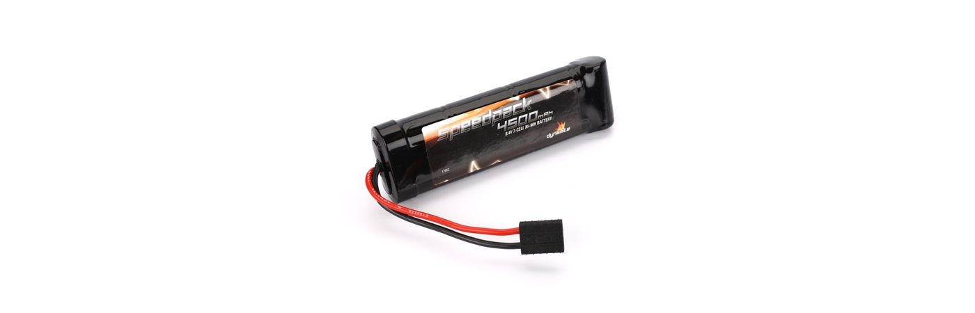 Speedpack 8.4V 4500mAh NiMH 7-Cell Flat with TRA Conn