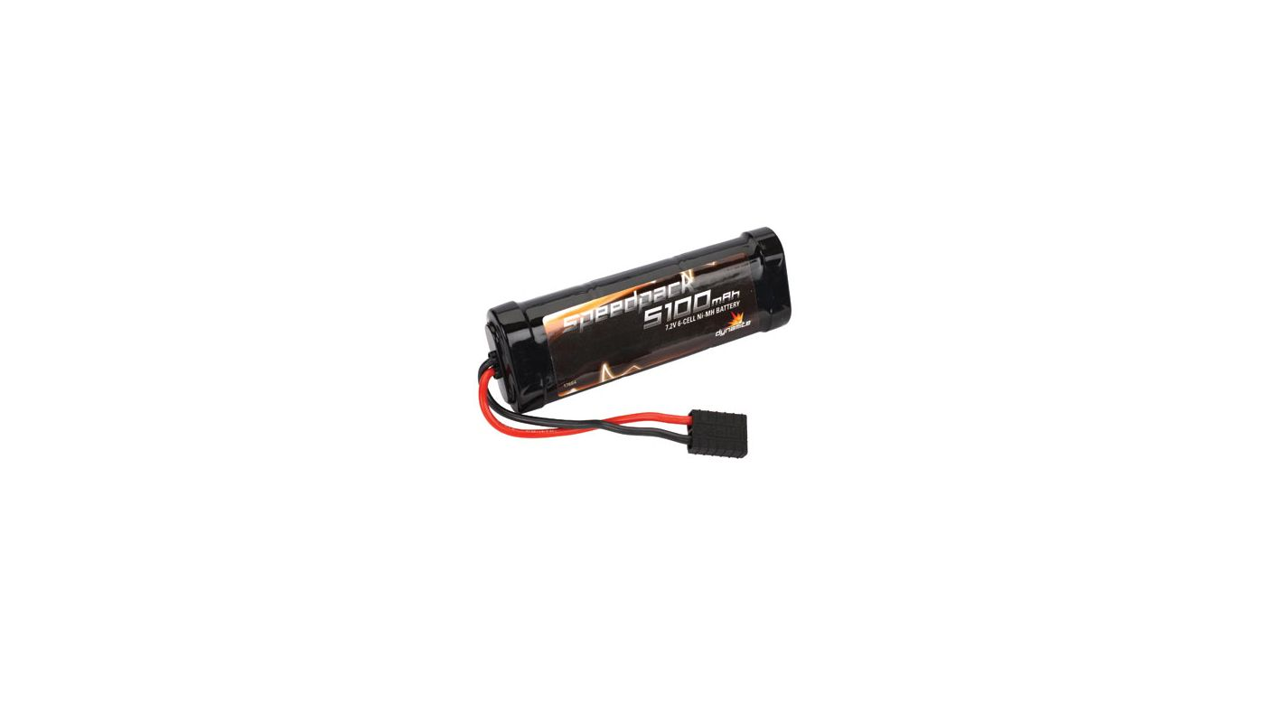 Image for Speedpack 7.2V 5100mAh NiMH 6-Cell Flat with TRA Conn from HorizonHobby