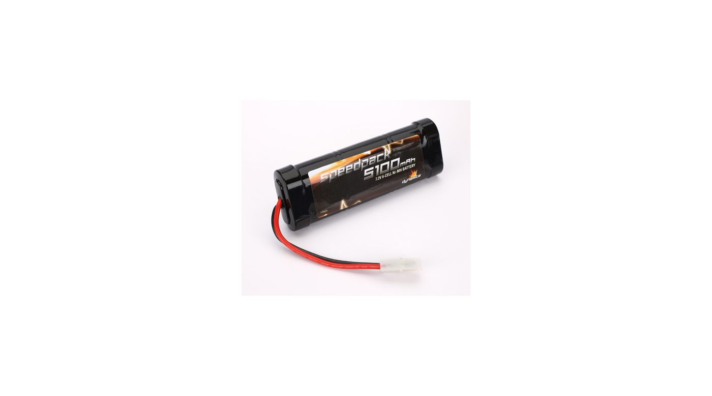Image for Speedpack 7.2V 5100mAh NiMH 6-Cell Flat with TAM Conn from HorizonHobby