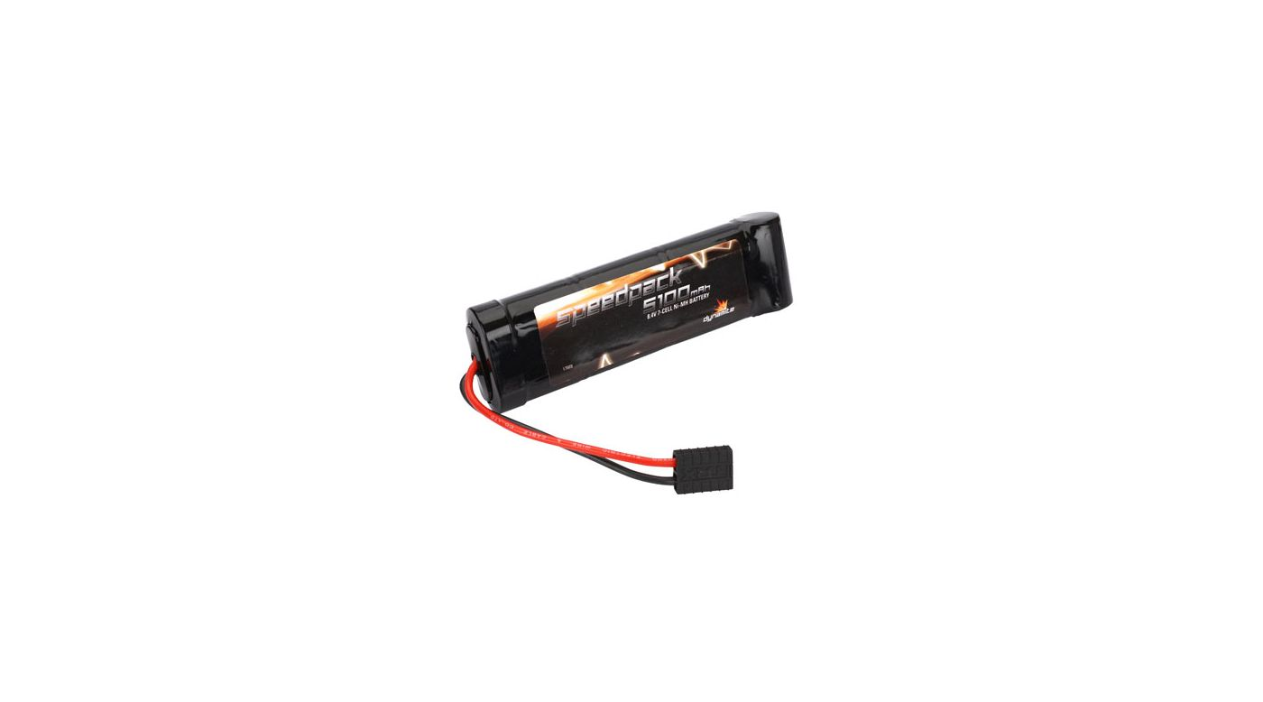 Image for Speedpack 8.4V 5100mAh NiMH 7-Cell Flat with TRA Conn from HorizonHobby