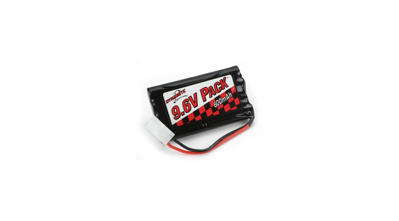 Image for 9.6V 600mAh 8-Cell NiCd Toy Pack from HorizonHobby