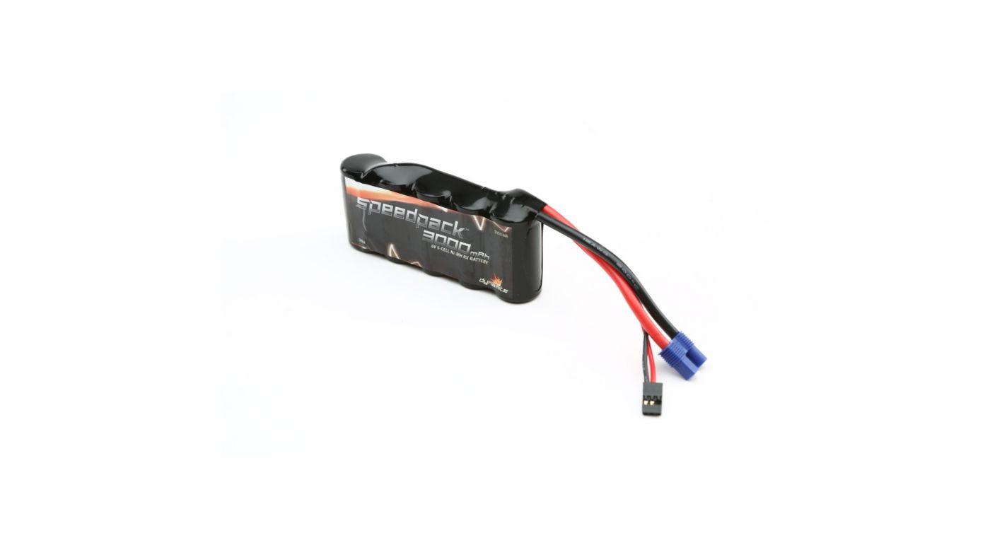 Image for Speedpack 6V 3000mAh NiMH 5C Flat Receiver Pack: 5T from HorizonHobby