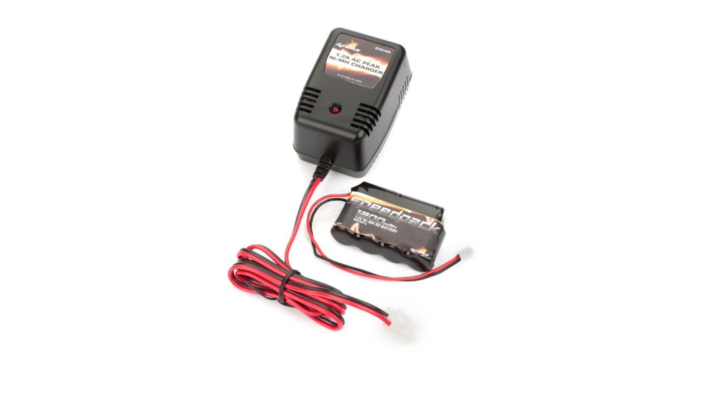 Image for 7.2V 1200mAh Ni-MH Battery/Charger Combo: Minis from HorizonHobby