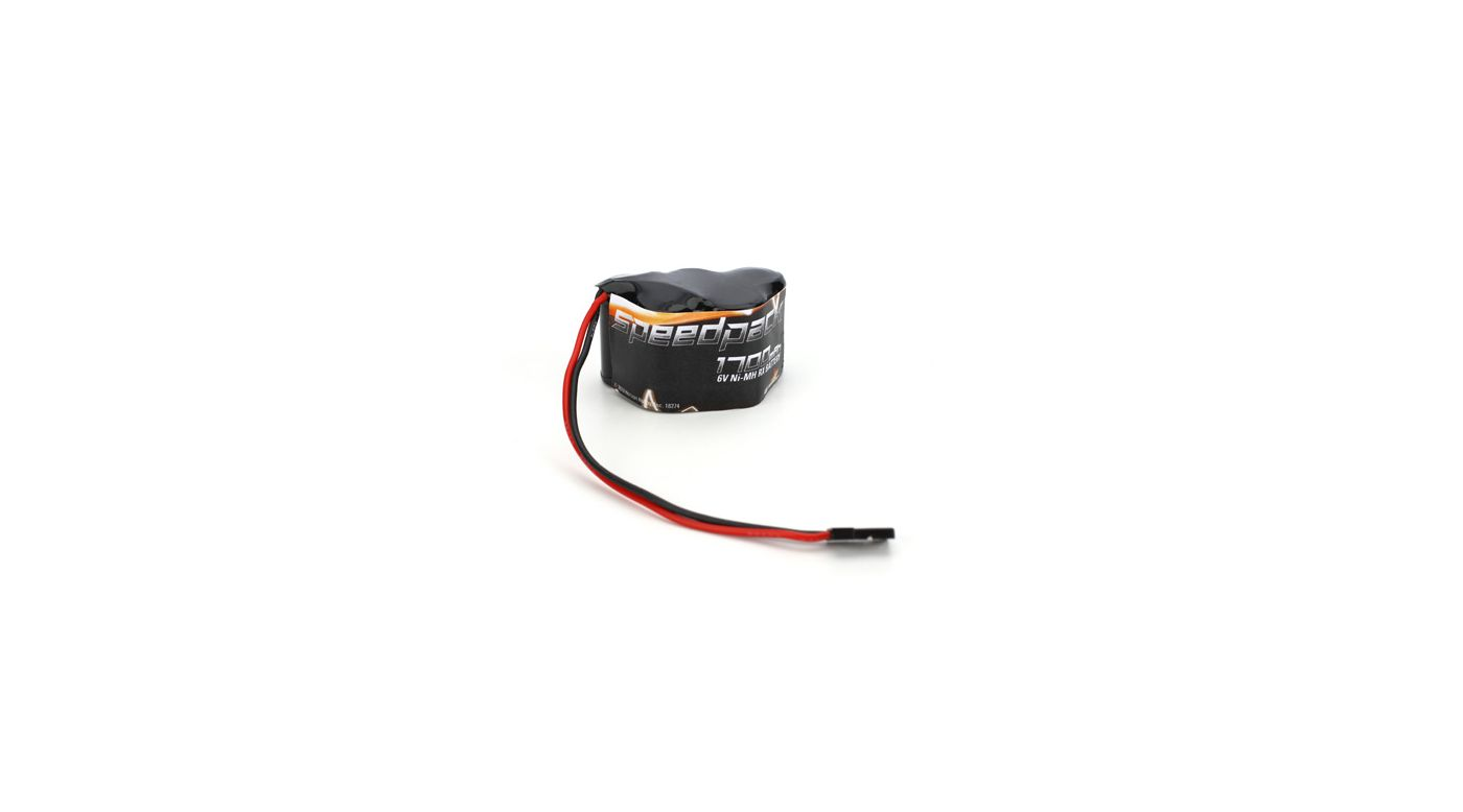 Image for 6V 1700mAh NiMH Receiver Pack, 3+2 Hump from HorizonHobby