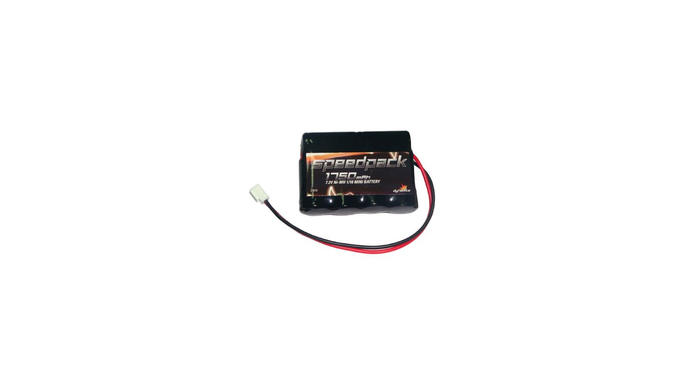 Image for 1750mAH 7.2V NiMH Battery: Mini-T from HorizonHobby
