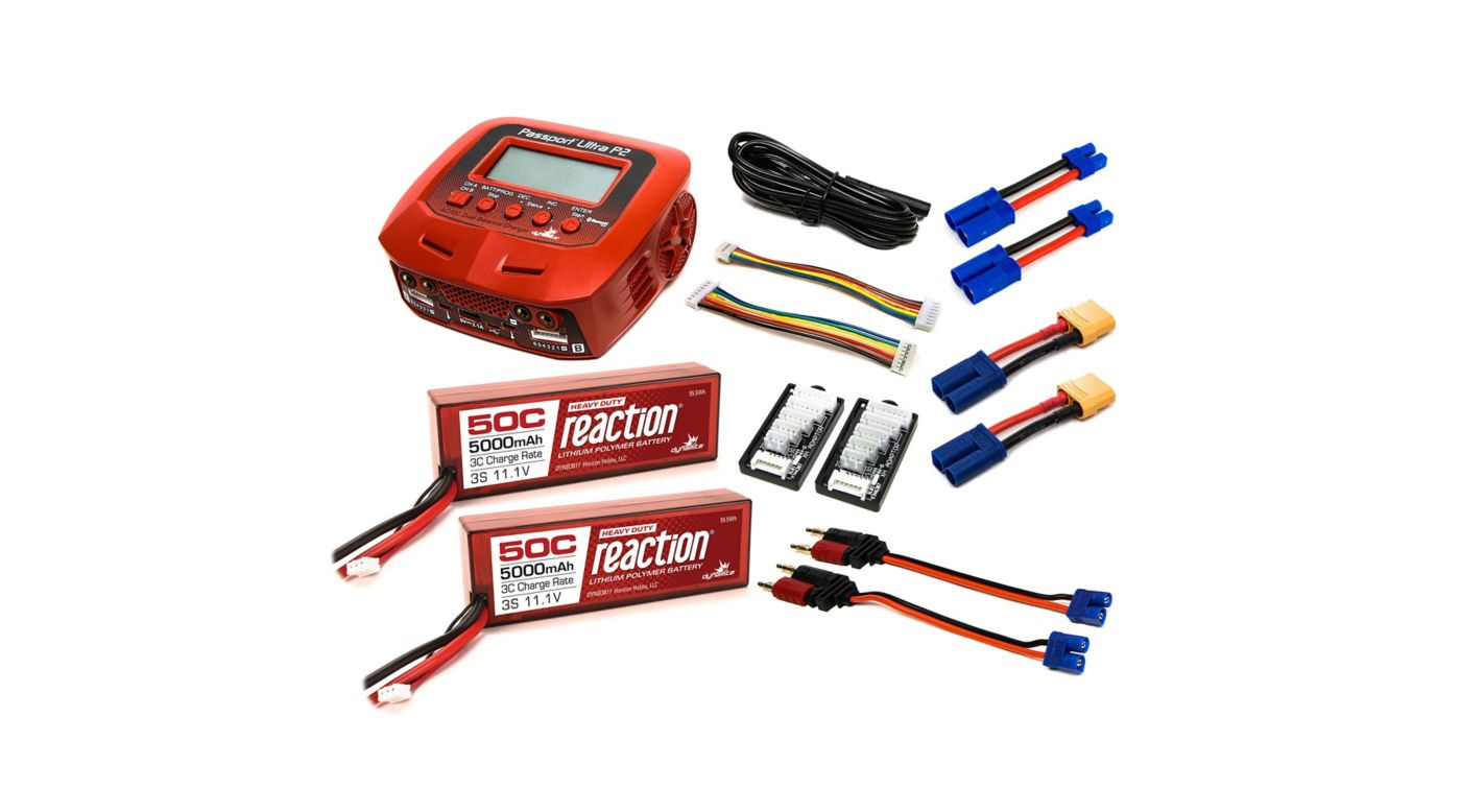 Image for Powerstage Bundle - Stage 6: 6S (2 x 3S) LiPo, EC5 from HorizonHobby