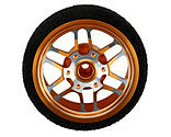 Dynamite - Custom Steering Wheel, BBS Orange: DX3R PRO