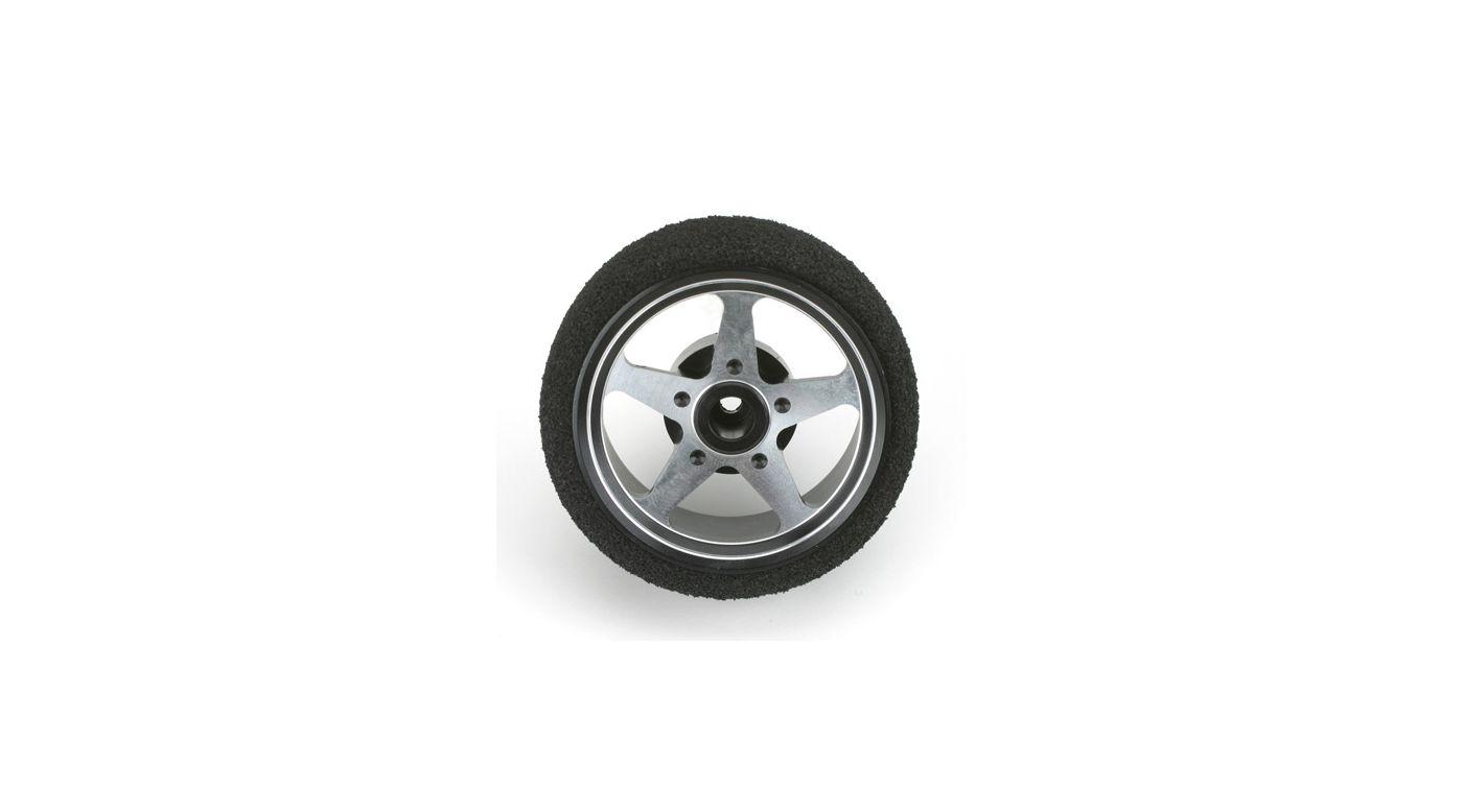Image for Custom Steering Wheel, 5-Spoke, Black: DX3S from HorizonHobby