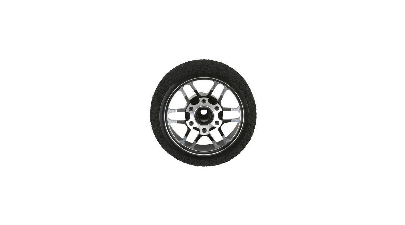 Image for Custom Steering Wheel, BBS Black: DX3S, DX4S from HorizonHobby