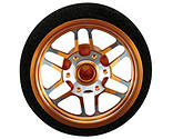 Dynamite - Custom Steering Wheel, BBS Orange: DX3S, DX4S, DX4C
