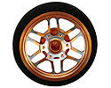 Custom Steering Wheel, BBS Orange: DX3S, DX4S, DX4C