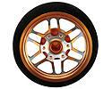 Custom Steering Wheel, BBS Orange: DX3S, DX4S