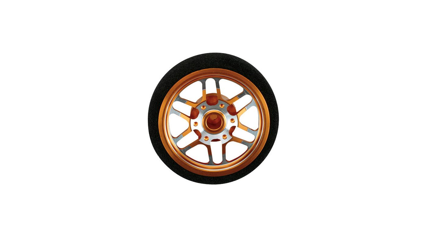 Image for Custom Steering Wheel, BBS Orange: DX3S, DX4S from HorizonHobby