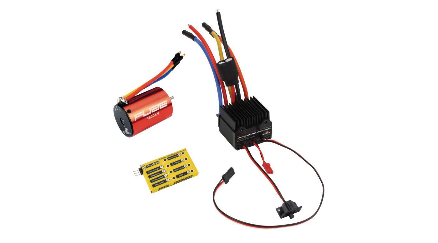 Image for FUZE 1/10 4800Kv Sensorless ESC/Motor Combo from HorizonHobby