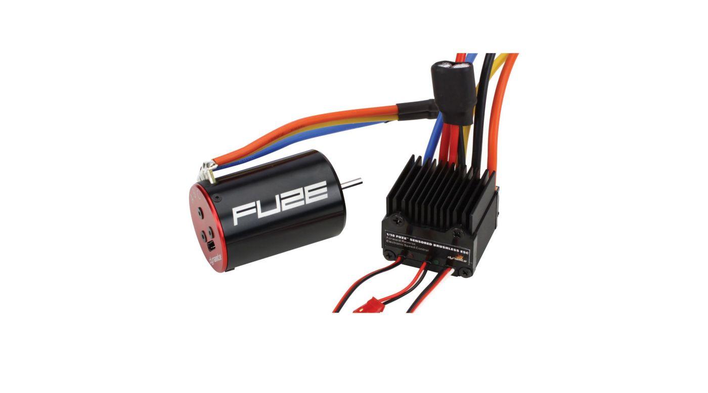 Image for FUZE 1/10 Sensored 8.5T ESC/Motor Combo from HorizonHobby