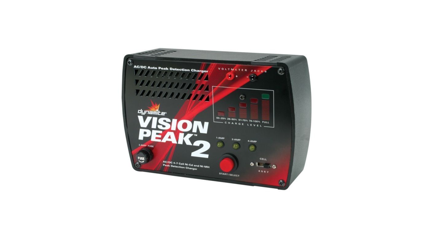 Image for Vision Peak 2 AC/DC Peak Charger from HorizonHobby