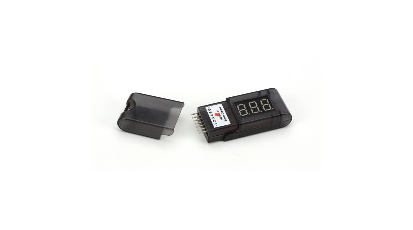 Image for Li-Po Cell Voltage Checker from HorizonHobby