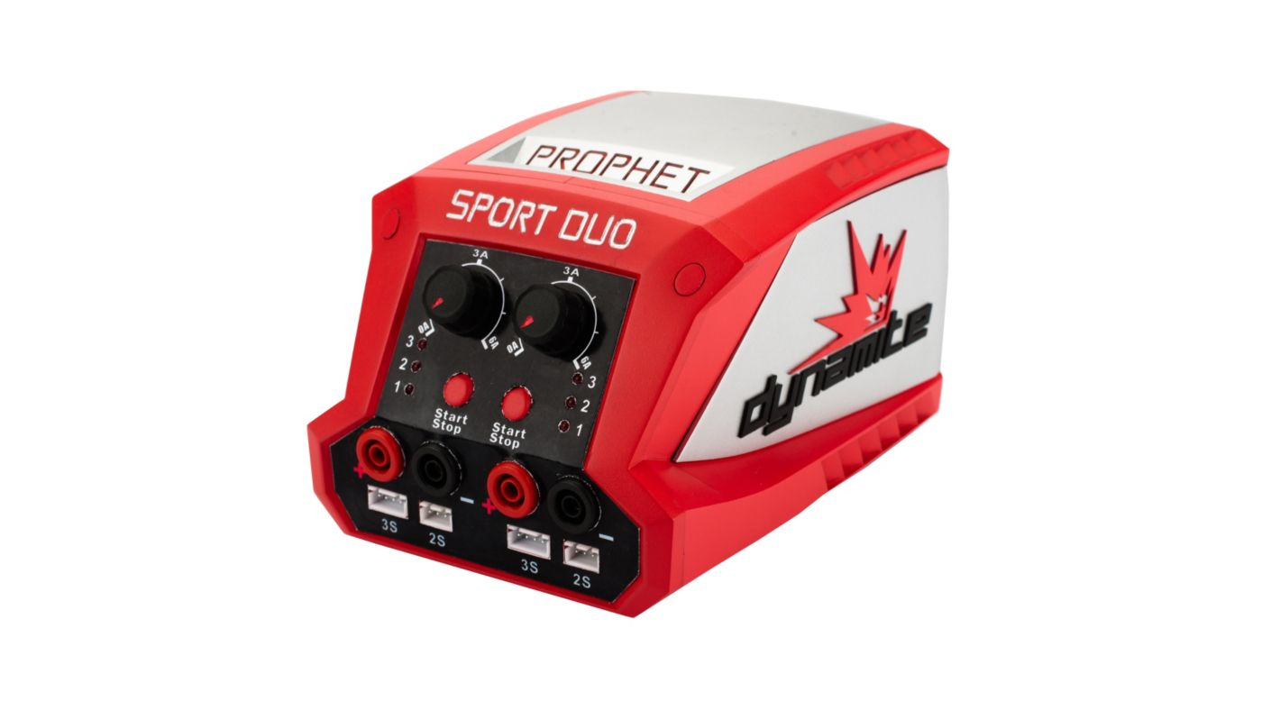Image for Prophet Sport LiPo Duo 50Wx2 Dual Battery Charger from HorizonHobby