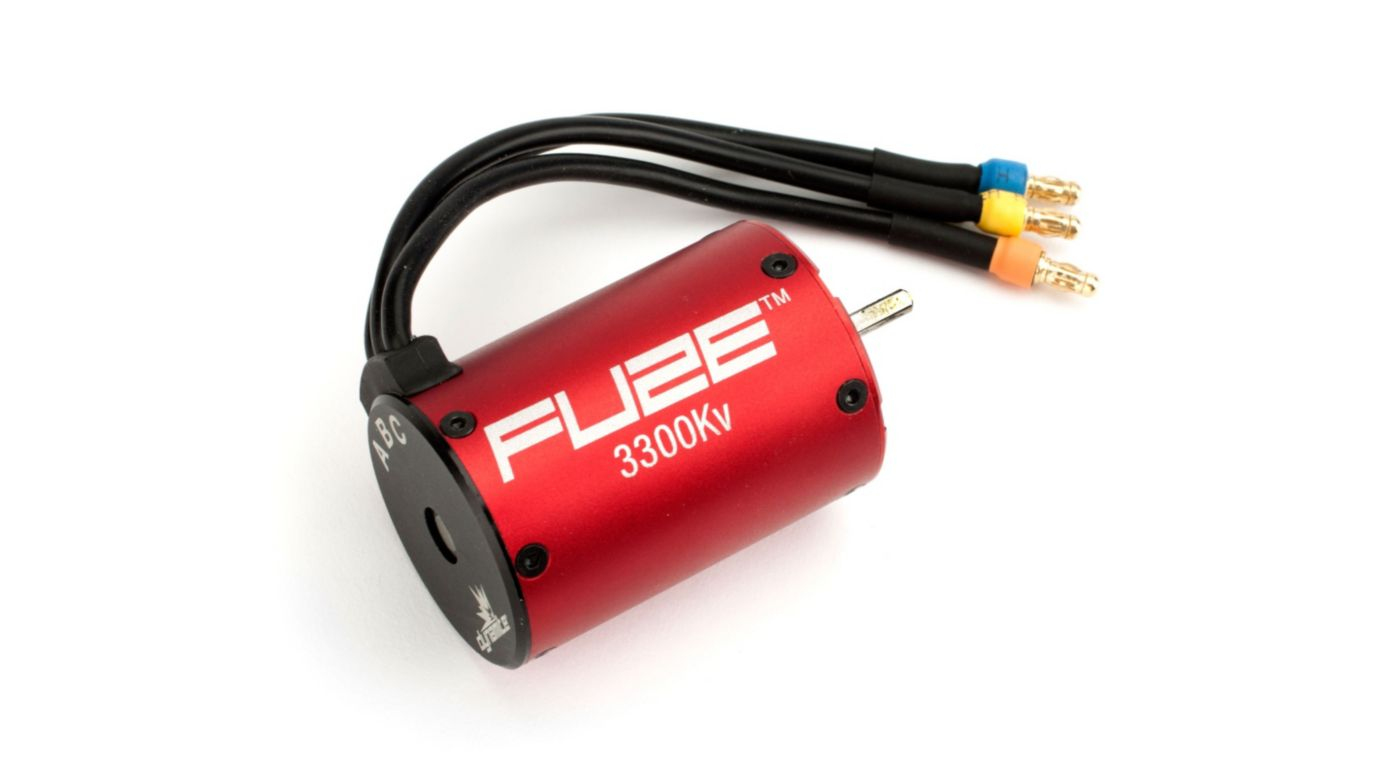 Image for Fuze 1/10 4-Pole Sensorless Brushless Motor, 3300Kv: 3.5mm Bullet from HorizonHobby
