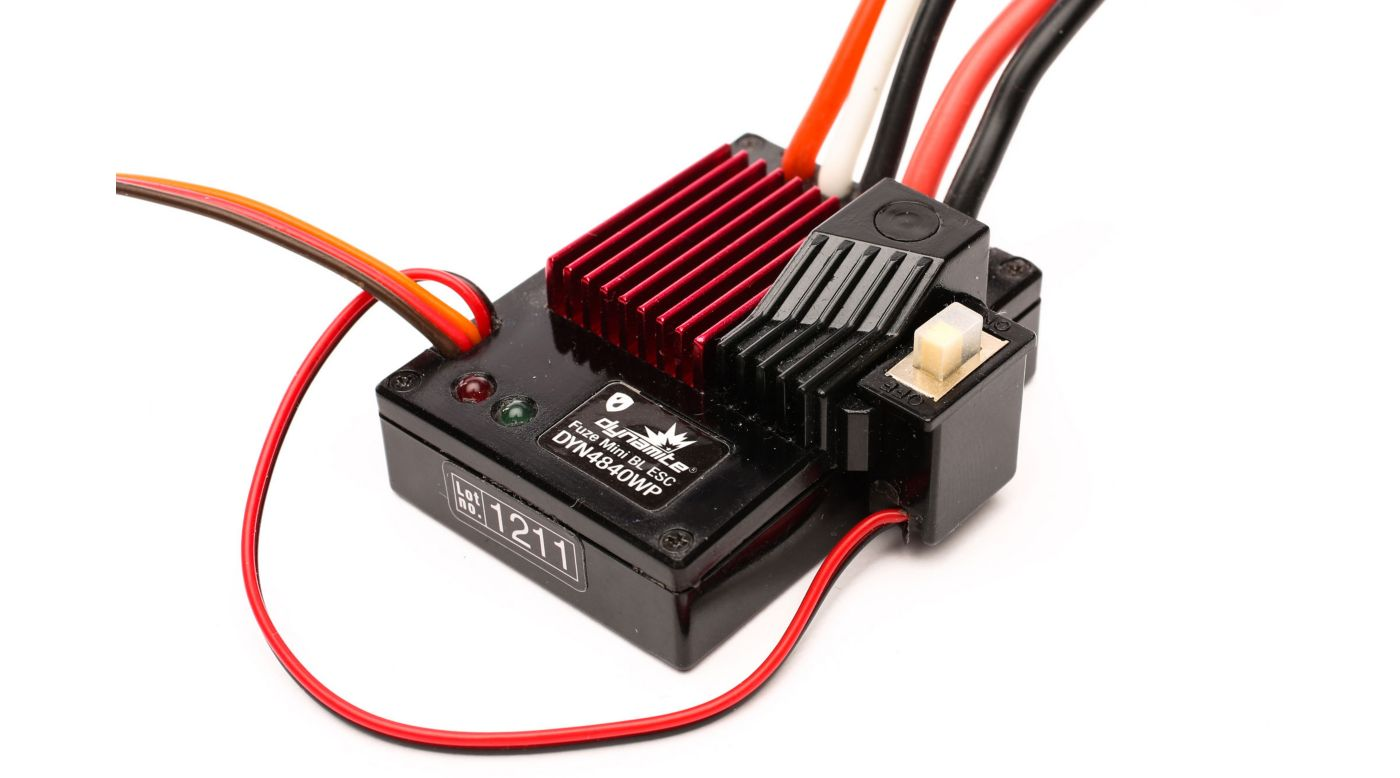 Image for Dynamite Mini BL Waterproof ESC from HorizonHobby
