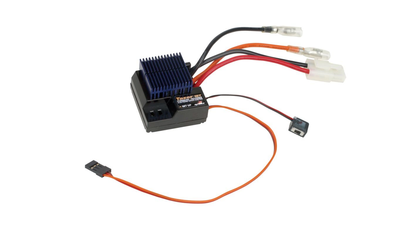 Image for Tazer 15T Forward/Reverse ESC from HorizonHobby
