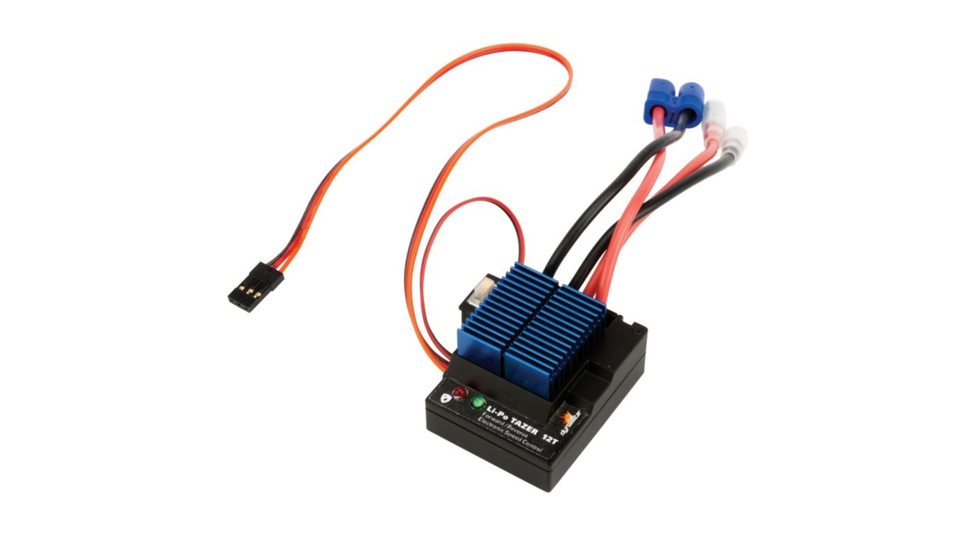 Image for LiPo Tazer 12T Waterproof Fwd/Rev ESC from HorizonHobby
