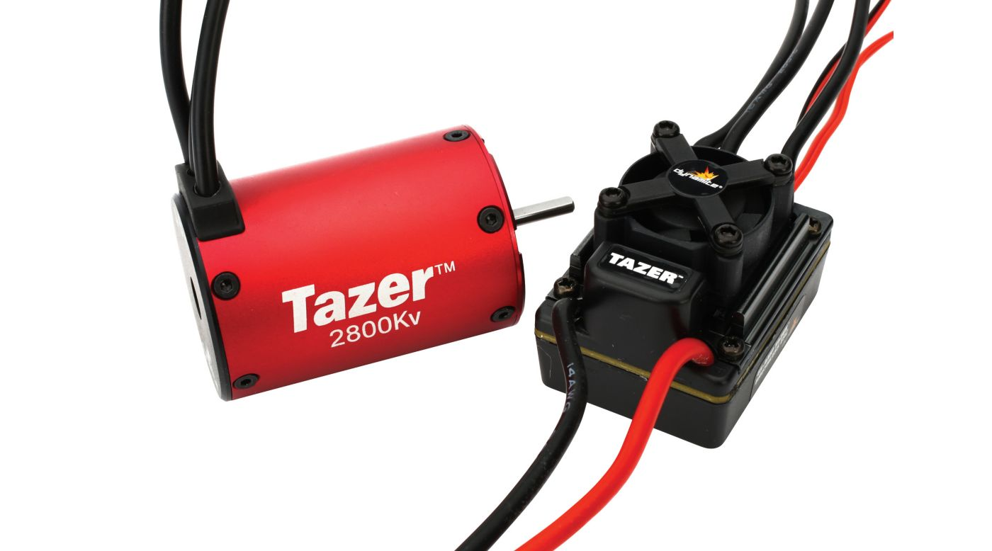 Image for Tazer 1/10 4 pole 2800Kv ESC/Motor Combo from HorizonHobby