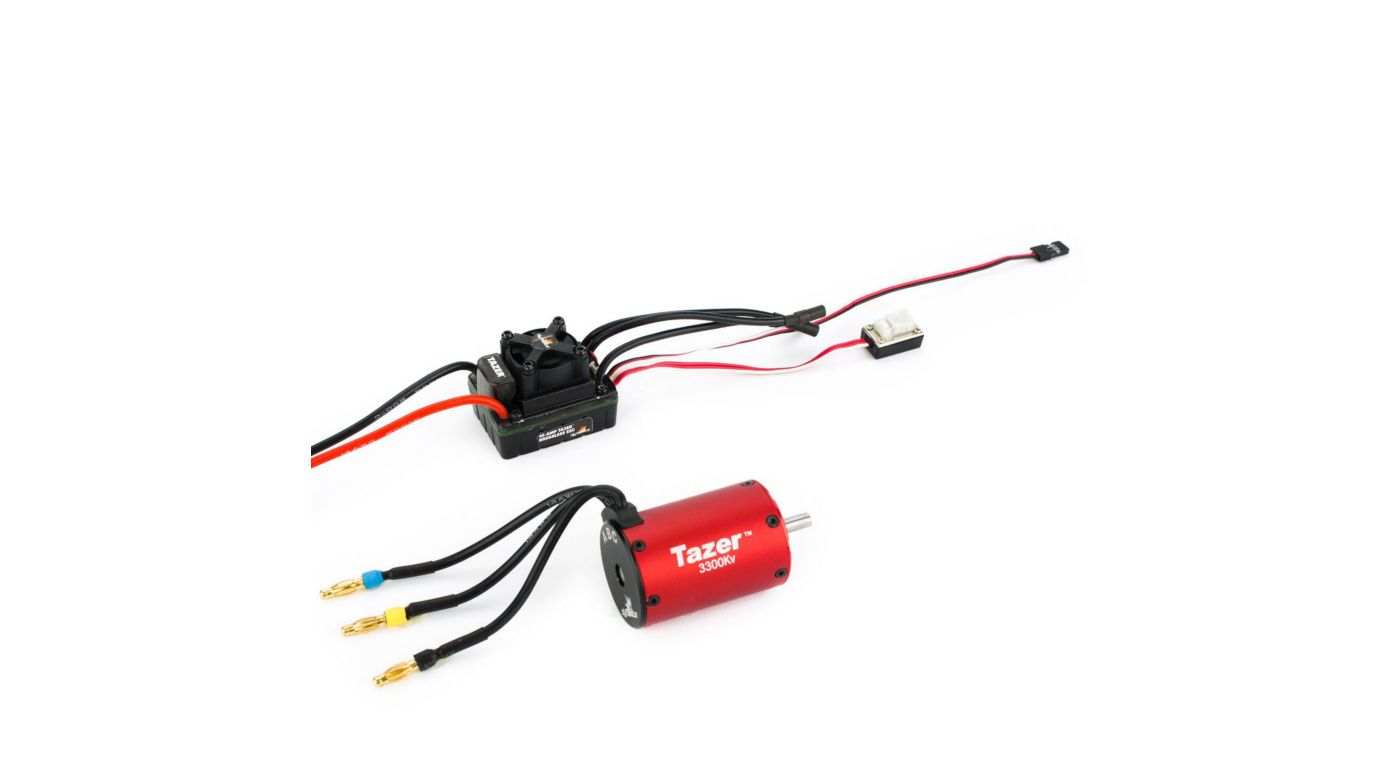 Image for Tazer 1/10 3300Kv ESC/Motor Combo from Horizon Hobby