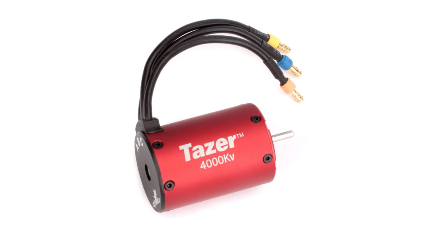 Image for 1/10 Tazer 4 pole BL Motor: 4000Kv from HorizonHobby
