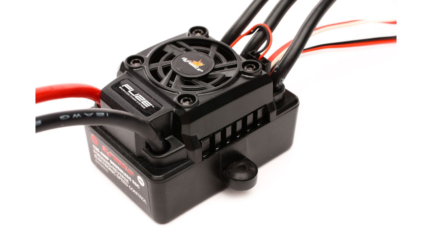 Image for Fuze 130A Sensorless Brushless Waterproof ESC: 4WD SCT 1/8 from HorizonHobby
