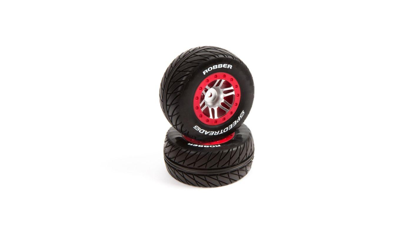 Image for SpeedTreads Robber SC Tires Mounted: Slash Rear, Slash 4x4 Front/Rear, ECX (2) from HorizonHobby