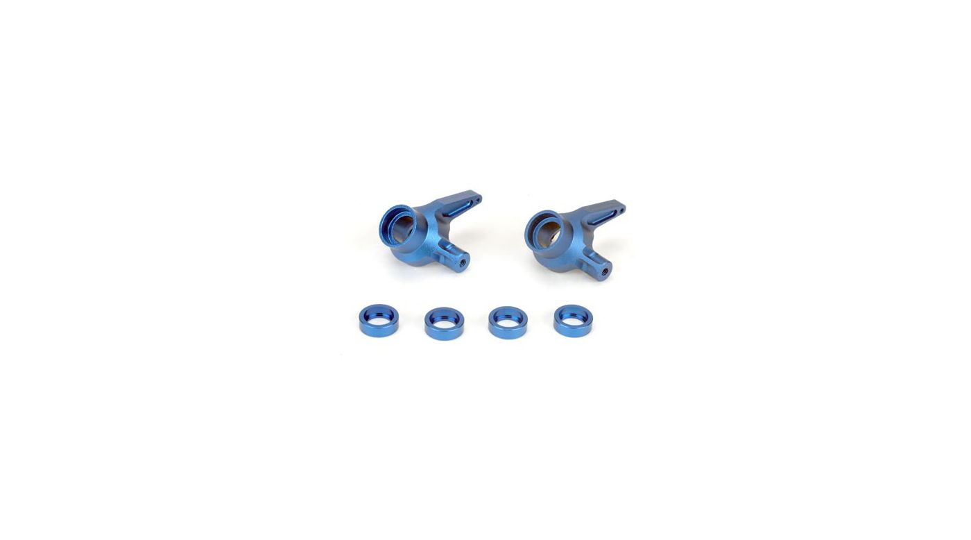 Image for Spindles, Aluminum, Blue: LST, AFT from HorizonHobby