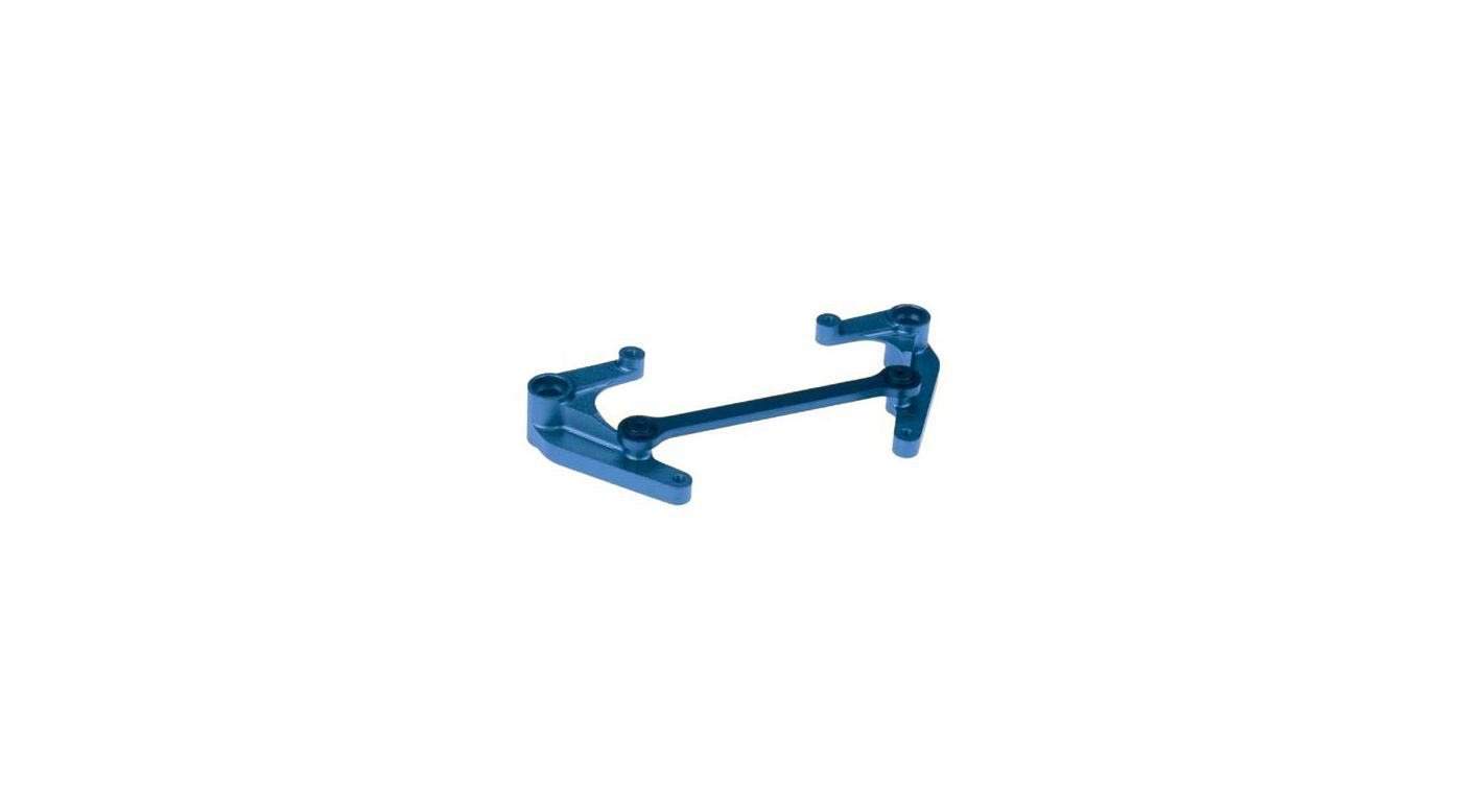 Image for Steering Bellcrank, Aluminum, Blue: LST, AFT from HorizonHobby