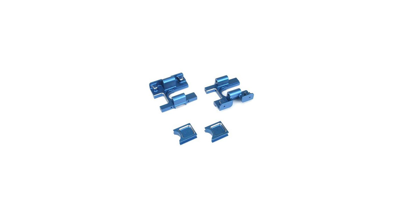Image for Front/Rear Bulkheads, Aluminum, Blue: LST,LST2,AFT from HorizonHobby
