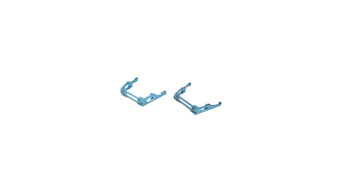 Image for Fr/R Chassis Brace Set, Alum, Blue: LST, LST2, AFT from HorizonHobby