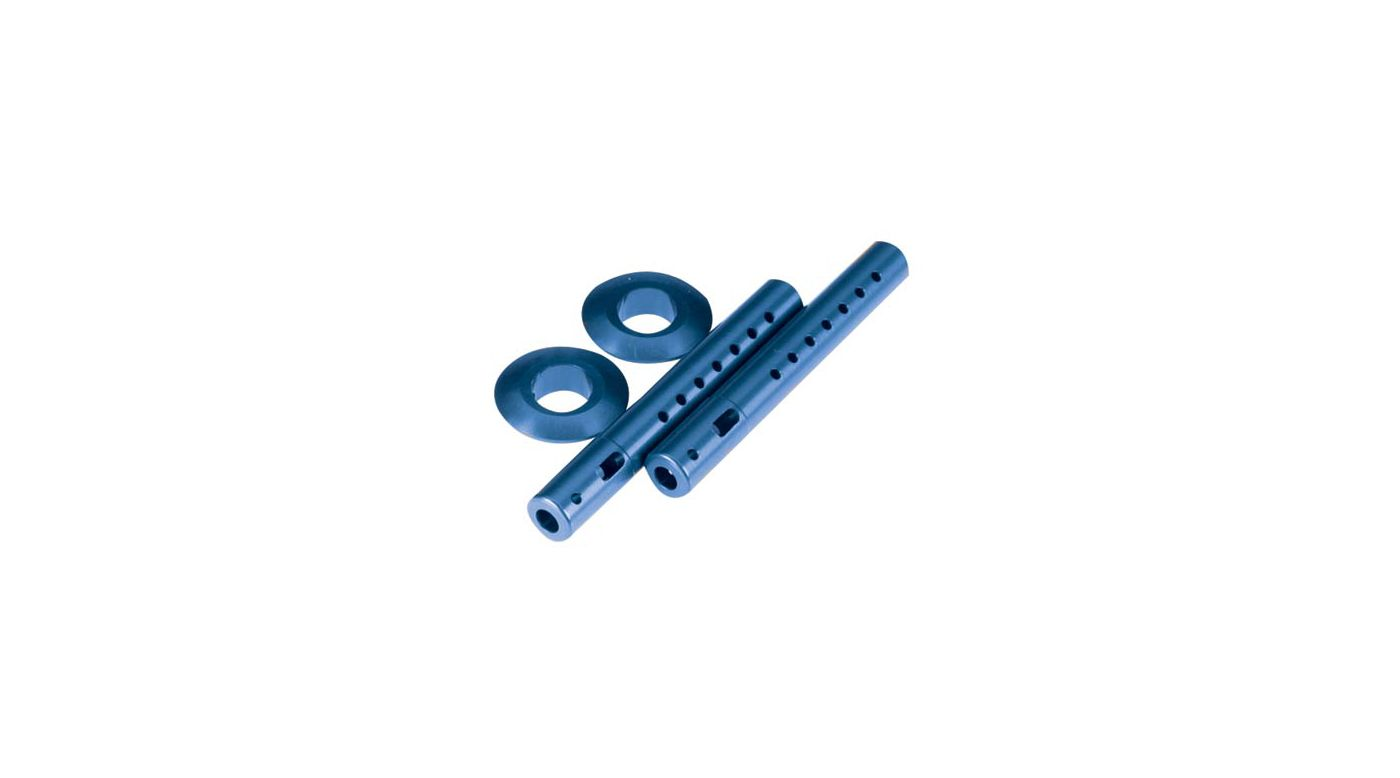 Image for Body Mounts w/Spring, Aluminum, Blue:LST, LST2,AFT from HorizonHobby