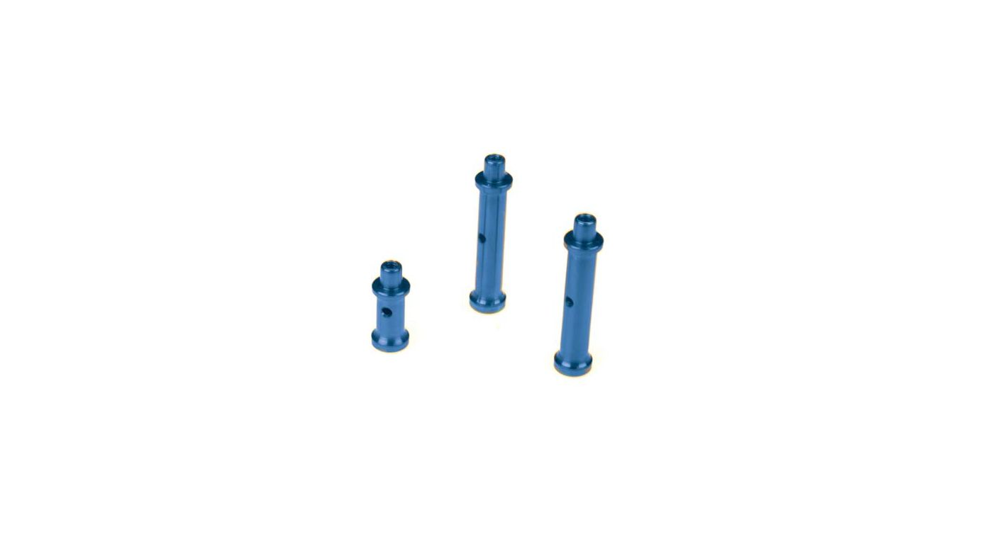 Image for Fuel Tank Post Set, Aluminum, Blue: LST, LST2, AFT from HorizonHobby
