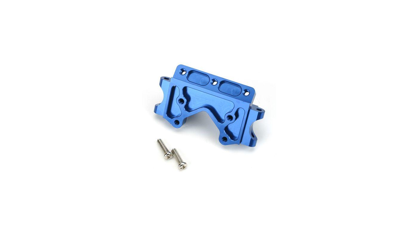 Image for Aluminum Front Bulkhead, Blue: SLH, RU from HorizonHobby