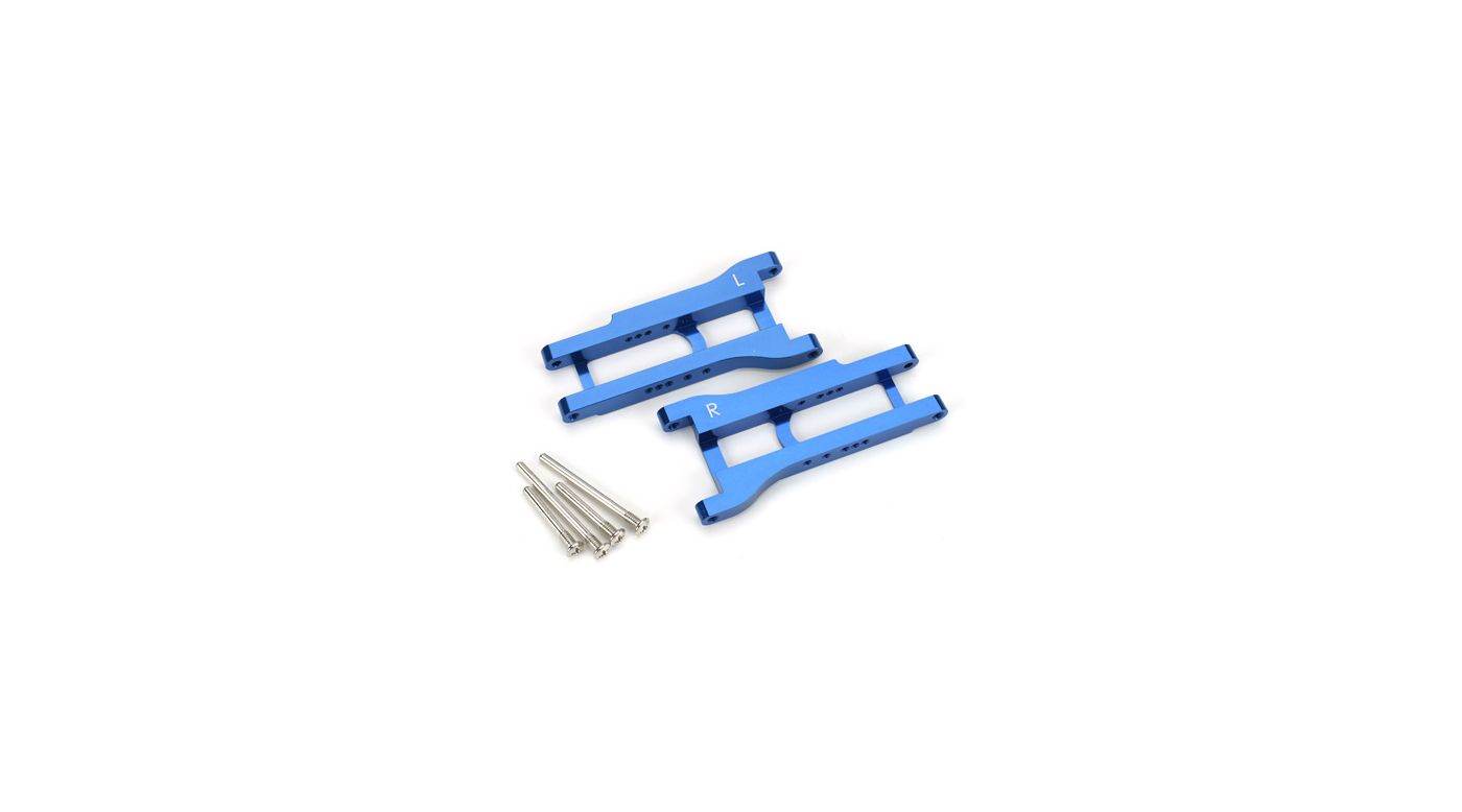 Image for Aluminum Rear Lower A-Arm Set, Bl: SLH, NST, NRU from HorizonHobby