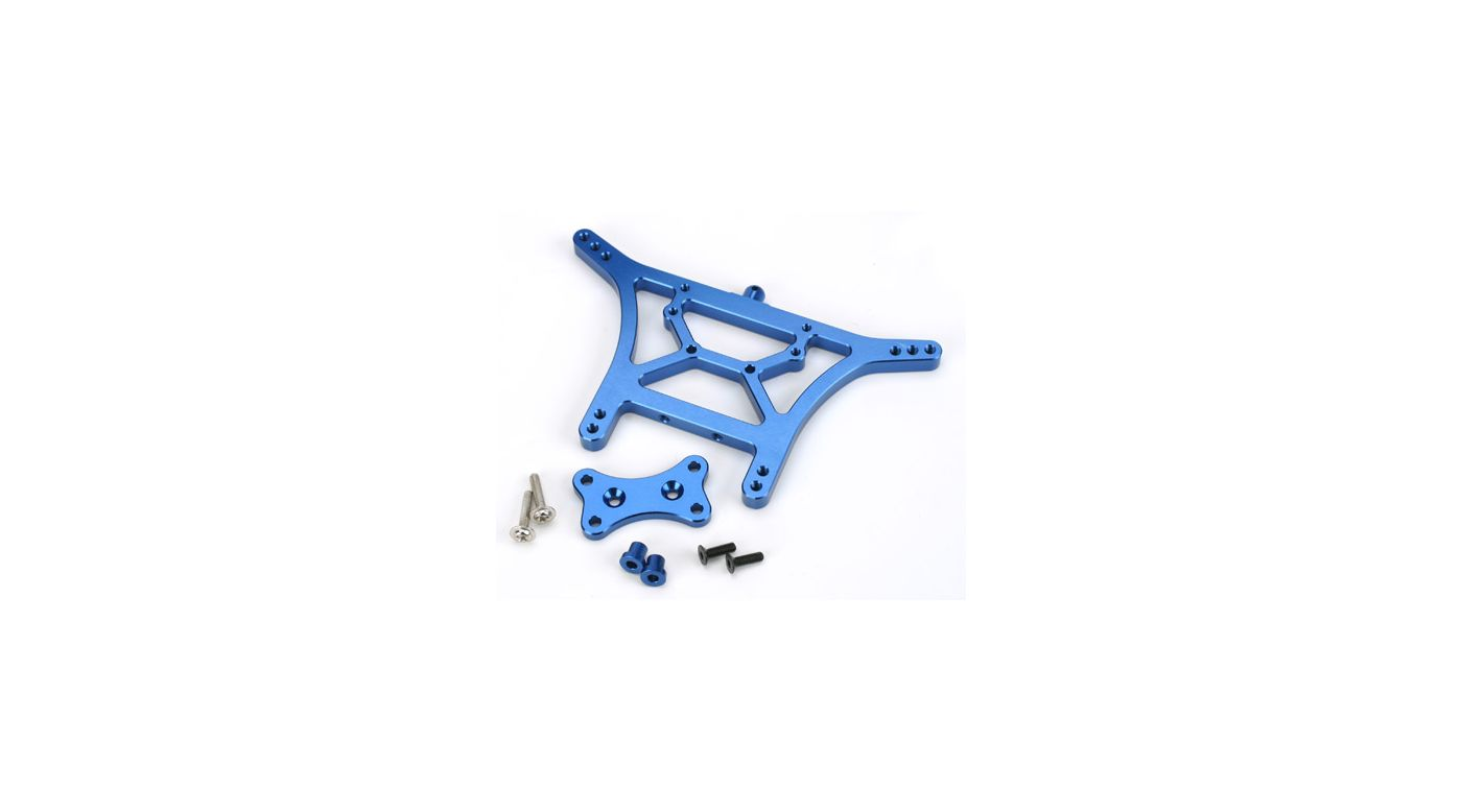 Image for Aluminum Rear Shock Tower, Blue: SLH from HorizonHobby