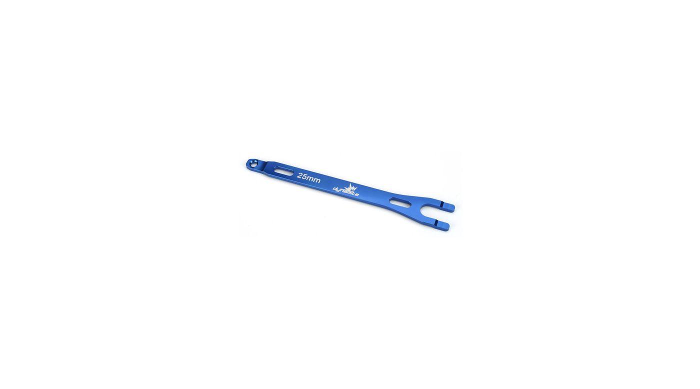 Image for Aluminum Battery Strap, Blue: SLH from HorizonHobby