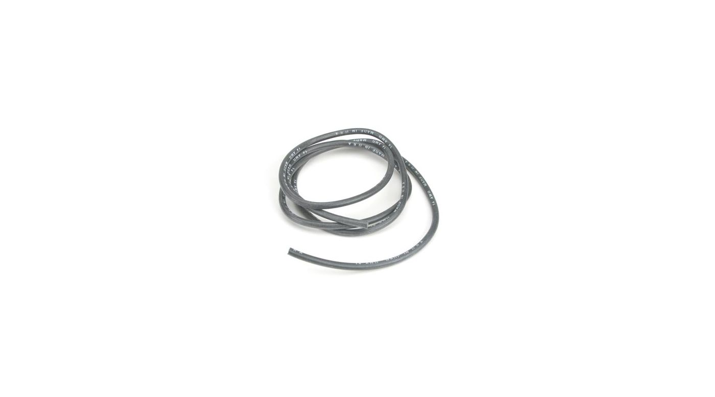 Image for 14AWG Silicone Wire 3', Black from HorizonHobby