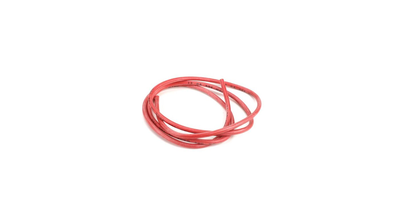 Image for 13AWG Silicone Wire 3', Red from HorizonHobby